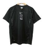 ナイキ NIKE NFTB SELECT S/S Tシャツ カットソー 半袖 Vネック トレーニングトップ サッカーウエア XL 大きいサイズ 黒 ブラック R12209