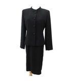 カンサイ KANSAI FORMAL フォーマル アンサンブル ワンピース スーツ ジャケット 冠婚葬祭 喪服 9AR 黒 ブラック R12417