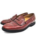 リーガル REGAL コイン ローファー Uチップ レザー 革靴 2716 ビジネスシューズ 25 茶 ブラウン IBS62 K062925