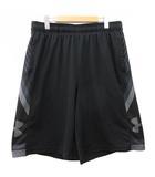 アンダーアーマー UNDER ARMOUR バスケットボール ショートパンツ ヒートギア ウエストゴム トレーニング スポーツウェア XXL 黒 ブラック R042516