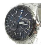 カシオ CASIO オシアナス OCEANUS 腕時計 アナログ 電波ソーラー 5412 OCW-G1000 チタニウム シルバー 黒 ブラック C042101