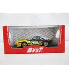 フェラーリ Ferrari ミニカー 308 GTB 9615 #2 黄 紺 ベストモデル 1/43 預 D4904
