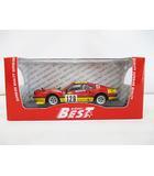 フェラーリ Ferrari ミニカー 308 GTB Gr.4 #129 赤 黄 ベストモデル 9620 預 D4906