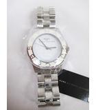マークバイマークジェイコブス MARC by MARC JACOBS 腕時計 クオーツ MBM3048 シルバー 白文字盤 3針 D6610