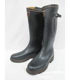 エーグル AIGLE 長靴 レインブーツ 45 27.5cm 深緑 フランス製 紳士靴 D6619