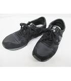 マーガレットハウエル MARGARET HOWELL NEW BALANCE ニューバランス スニーカー 美品 23.5cm 黒 婦人靴 ブラック D6674