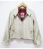 マーガレットハウエル MARGARET HOWELL BARACUTA ジャンパー 美品 ブルゾン 2 ベージュ ジャケット 英国製 D6684