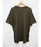 ワイズフォーメン Y's for men カットソー Tシャツ 半袖 セーター カーキ D6702