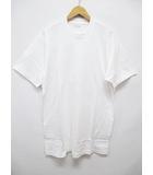 ワイズフォーメン Y's for men Tシャツ カットソー 白 ホワイト 丸首 D6703
