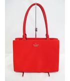 ケイトスペード KATE SPADE ハンドバッグ 美品 赤 ショルダーバッグ レッド D6717 トートバッグ