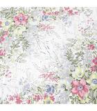 クリスチャンディオール Christian Dior 花柄 フラワー 大判 スカーフ 絹 シルク ピンク系 イタリア製 ロゴ 文字