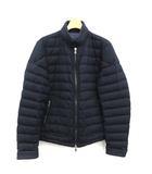 モンクレール MONCLER ダウンジャケット DELABOST スタンドカラー ウール 1 紺 ネイビー /KH