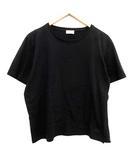 サンローラン パリ SAINT LAURENT PARIS Tシャツ カットソー 半袖 ロゴ 刺繍 L 黒 ブラック /KH