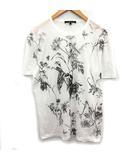 グッチ GUCCI Tシャツ カットソー 半袖  プリント L 白 ホワイト /KH