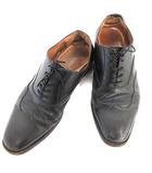 スコッチグレイン SCOTCH GRAIN ビジネスシューズ  ウィングチップ レザー 革靴 26 黒 /☆G