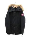カナダグース CANADA GOOSE ダウンジャケット シャトーパーカ CHATEAU PARKA コヨーテファー S 黒 ブラック 3426MA /KH