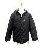 バーバリーブラックレーベル BURBERRY BLACK LABEL ダウンジャケット フード M 黒 ブラック /TK