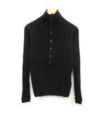 ソスタヌート SOS TENUTO セーター ニット ハイネック 長袖 46 黒 ブラック /EK