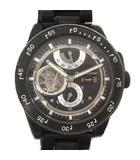 オリエント ORIENT オリエントスター ORIENT STAR 腕時計 アナログ 自動巻き クロノグラフ 3針 レトロフューチャー 黒 ブラック FH02-E0 GA /MF1 ●D