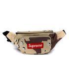 シュプリーム SUPREME 17SS レザー ウエストバッグ デザートカモ Leather Waist Bag Desert Camo ボディバッグ ボックスロゴ ベージュ 茶 /YM ●D