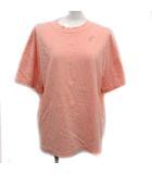 ミナペルホネン mina perhonen Tシャツ カットソー choucho 半袖 刺繍 40 ピンク /KH