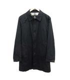 バーバリーブラックレーベル BURBERRY BLACK LABEL コート ステンカラー ロング M 紺 ネイビー /KH ●D