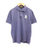 ラルフローレン ラグビー RALPH LAUREN RUGBY ポロシャツ 半袖 L 紫 パープル /EK ●D