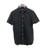 ジョセフオム JOSEPH HOMME ポロシャツ 半袖 46 黒 ブラック  /☆G
