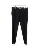 バレンシアガ BALENCIAGA パンツ スラックス ウール 50 黒 ブラック /KH