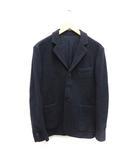 ヤエカ YAECA テーラードジャケット シングル 総裏地 ウール S 紺 ネイビー /MF5