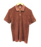 フィルメランジェ FilMelange ポロシャツ 半袖 3 茶 ブラウン /EK