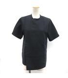 ハイク HYKE カットソー Tシャツ 半袖 1 紺 ネイビー /TK