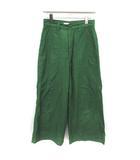 ガリャルダガランテ GALLARDAGALANTE パンツ ワイド 1 緑 グリーン /YM