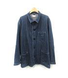 ブルーブルー BLUE BLUE ジャケット カバーオール デニム 3 紺 ネイビー /YO10●D