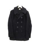 ザリアルマッコイズ THE REAL McCOY'S NAVAL CLOTHING FACTORY  ピーコート Pコート ショート 38 黒 ブラック /KH