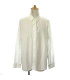 エストネーション ESTNATION ワイシャツ ドレス 長袖 XL 白 ホワイト /TK