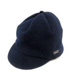 オーチバル ORCIVAL オーシバル 帽子 キャスケット ウール 紺 ネイビー /SR