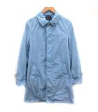 ブルーワーク BLUE WORK M コート ステンカラー 青 ライトブルー /EK
