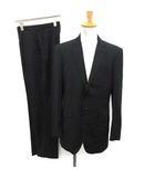 ポールスミス PAUL SMITH スーツ セットアップ 上下 ジャケット パンツ ウール L 黒 ブラック /KH ●D