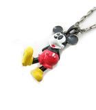 ジャムホームメイド&レディーメイド JAM HOME MADE & ready made ディズニー ネックレス ペンダント ミッキーマウス 赤 黒 黄 /MF23