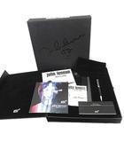 モンブラン MONT BLANC ボールペン ジョンレノン John Lennon スペシャルエディション レコード付き 黒 シルバー /YM