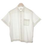 エディションズエムアール EDITIONS M.R 38 シャツ 半袖 白 ホワイト /EK