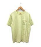 シュプリーム SUPREME S/S Pocket tee 20SS Tシャツ カットソー 半袖 コットン M 黄 イエロー /MF33