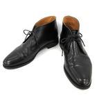 ロイド フットウェア Lloyd Footwear チャッカブーツ レザー 10 E 黒 ブラック /MF30