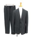 セオリー theory 17SS スーツ セットアップ 上下 ジャケット パンツ 42 チャコールグレー /KH