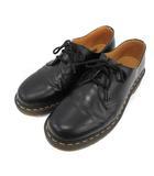 ドクターマーチン DR.MARTENS ギブソンシューズ 3EYE GIBSON SHOE 3ホール レザー UK7 黒 ブラック 1461 /KH