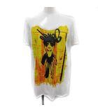 マルニ MARNI Tシャツ カットソー プリント 半袖 40 白 黄色 /YM