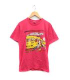 シュプリーム SUPREME Tシャツ カットソー 半袖 LIMONIOUS PUNANY TRAIN TEE プリント M ピンク /MF35