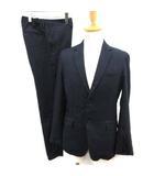 フォーワンセブンバイエディフィス 417byEDIFICE M 19AW スーツ セットアップ 上下 ジャケット パンツ 紺 ネイビー /EK