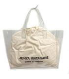 ジュンヤワタナベ JUNYA WATANABE COMME des GARCONS 19AW トートバッグ ハンド PVC アイボリー クリア /MF3